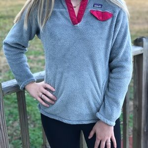 Patagonia Girls Re-Tool Snap-T Fleece Pullover